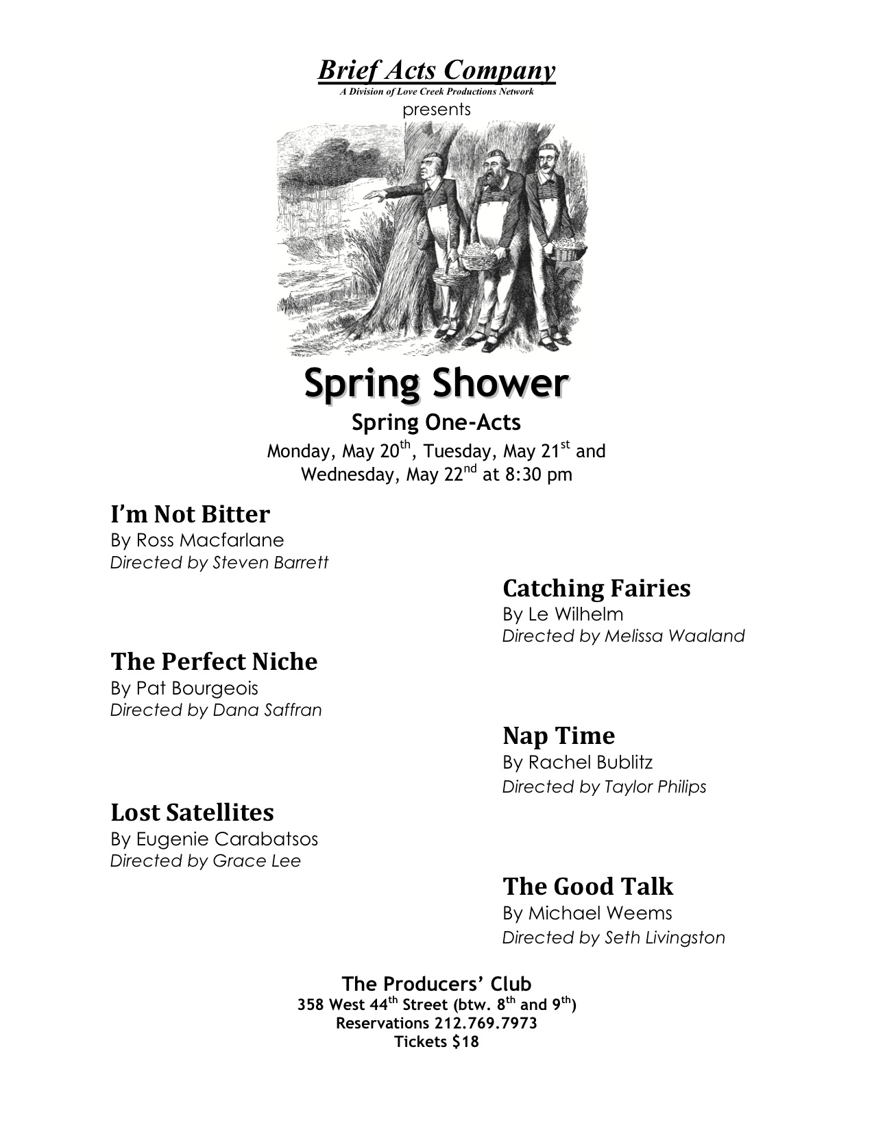 Spring E 2013 Flyer No Cast