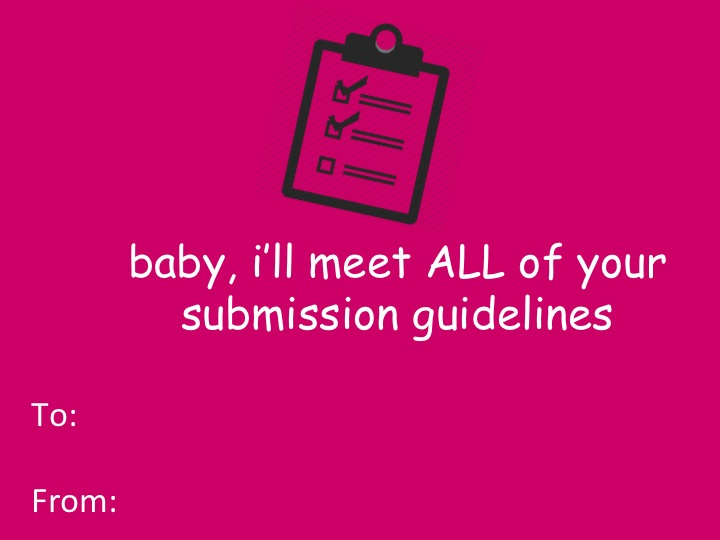 Submission Valentine's Day Card.